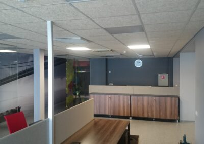 Schenkeri büroo- ja laohoone renoveerimise III etapp