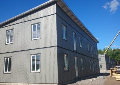 Moodulmajade paigaldus Skandinaavias