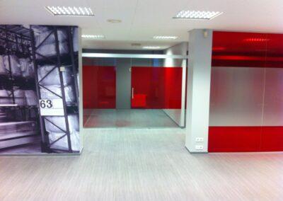 Schenkeri kontori ja laopindade renoveerimise kaks etappi 2014 ja 2015 aastal