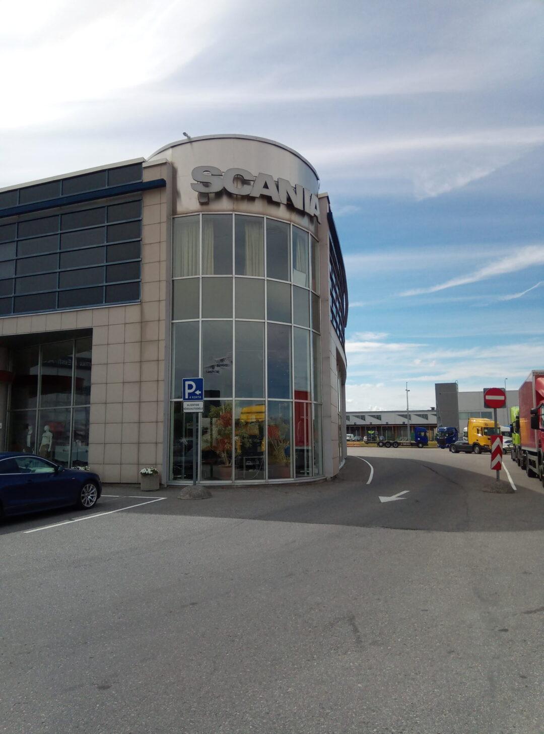 Scania bürooruumide remont