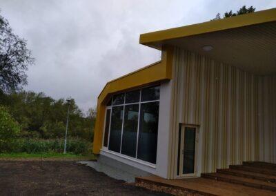 Lagedi Noortekeskuse hoone projekteerimis- ja ehitustööd